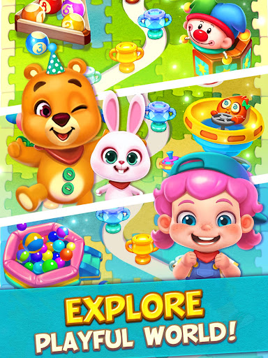 Toy Party: Free Match 3 Games, Hexa & Block Puzzle  gameplay | by HackJr.Pw 16