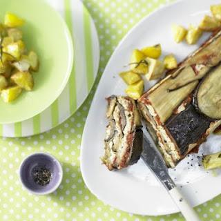 Terrine with Eggplant and Rosemary Potatoes.