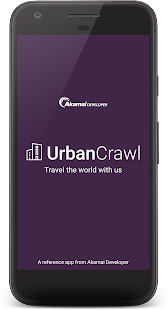 Urban Crawl - MAP SDK Reference App- screenshot thumbnail