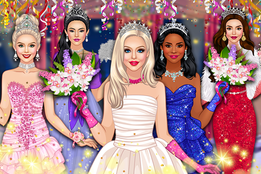 Prom Queen Dress Up - High School Rising Star  screenshots 1