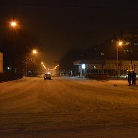 by Drago Ilisinovic - City,  Street & Park  Night