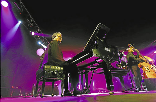 Showing up: Internationally renowned pianist Abdullah Ibrahim is among the South African jazz legends who will perform at the 20th edition of the Joy of Jazz music festival, which is on at the Sandton Convention Centre from September 28-30. Picture: MOELETSI MABE