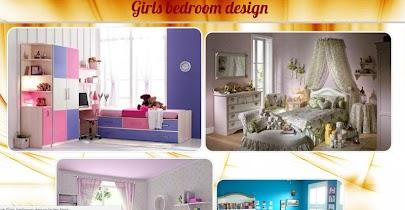 Girls bedroom design - screenshot thumbnail 01