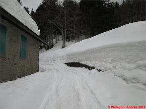 Photo: IMG_2157 muro di neve al Segheria