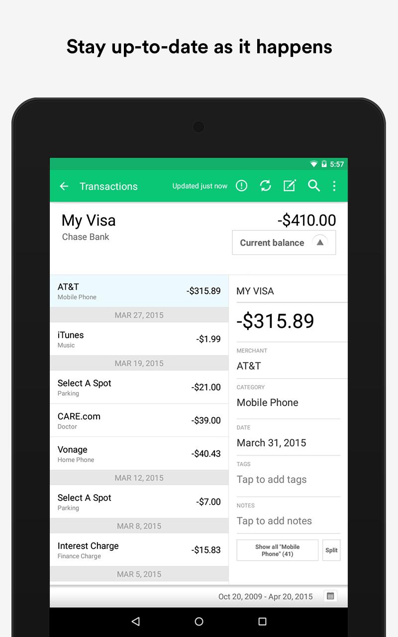 Mint: Personal Finance & Money screenshot #17