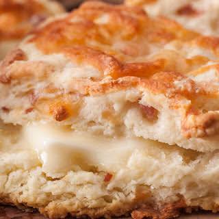 Ham and Cheese Scones.