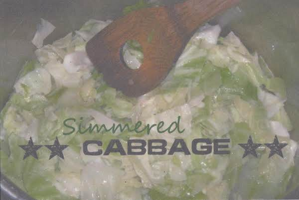 Simmered Cabbage.