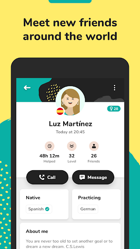 Lingbe: Practice languages with native speakers  screenshots 4