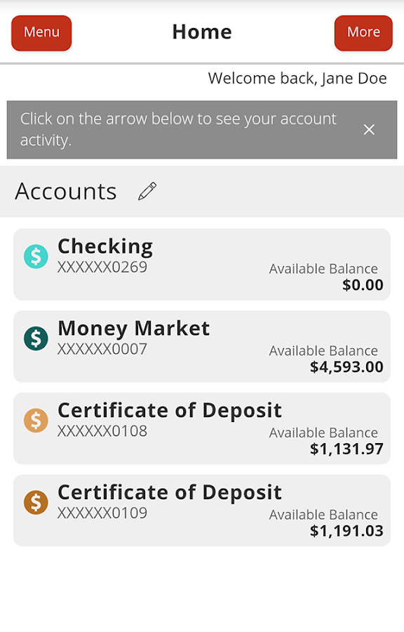 Texas Capital Bank Mobile- screenshot