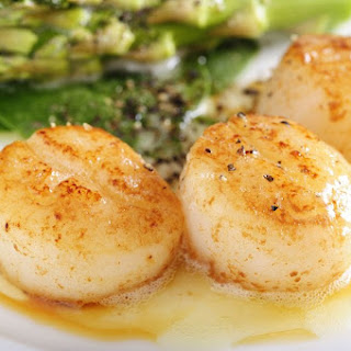 Spicy Seared Scallops.