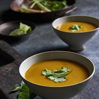 Mind-Blowing Vegan Thai Pumpkin Soup.