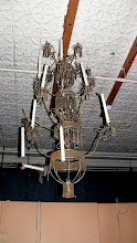 Photo: Old Chandelier - possibly a display item.