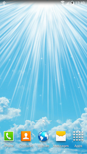 download blue sky live wallpaper for pc