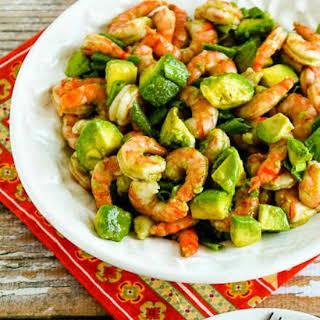 Easy Paleo Shrimp and Avocado Salad.