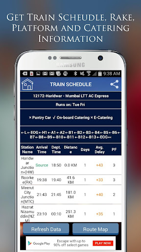 Indian Rail IRCTC PNR Status for PC