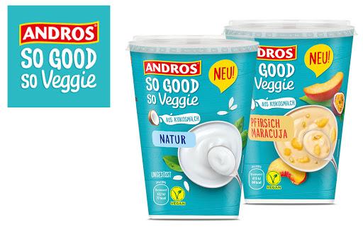Bild für Cashback-Angebot: Gratis testen: Andros SO GOOD So Veggie