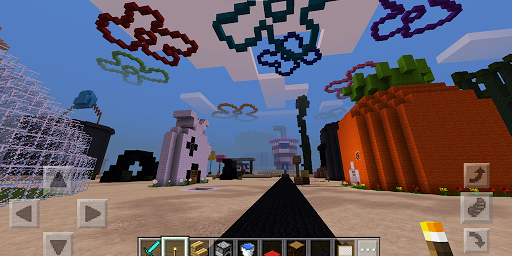 Bikini Bottom. Map for MCPE for PC