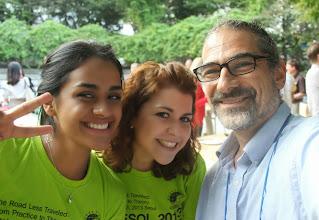 Photo: With the Stream Team Anahi Arambula Barraza & Maribel Sánchez Mengíbar More KOTESOL2013 Media at: http://koreabridge.net/kotesol2013