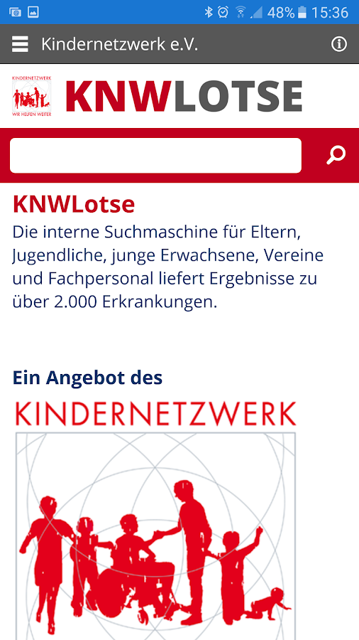 KNW Lotse – Screenshot