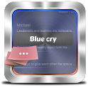 Blue cry GO SMS icon