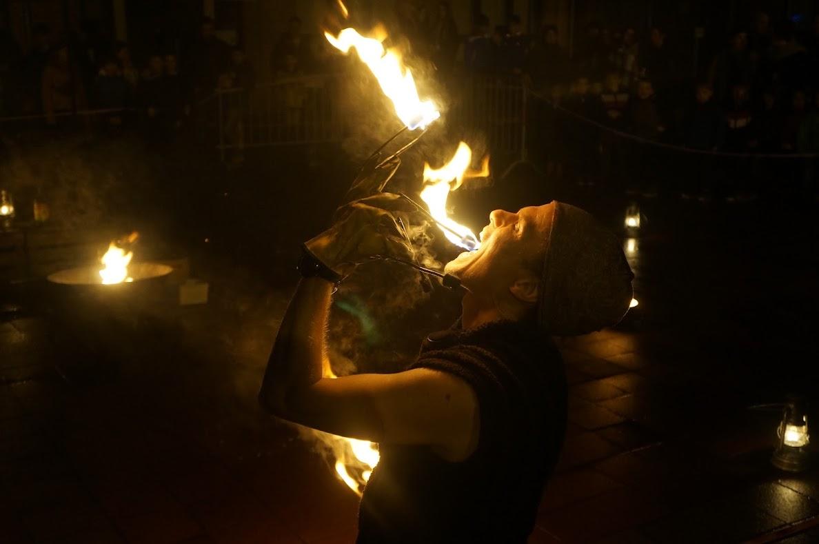 Berkenbos in vuur en vlam !
