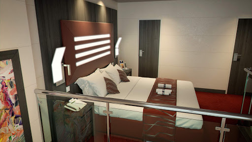Duplex-suites-with-upstairs-double-bed.jpg - A look at the duplex suite with upstairs double bed on MSC Meraviglia.