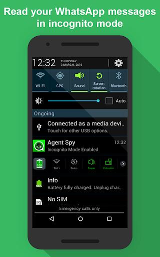 Agent Spy -No blue ticks, No last seen, Ghost Mode 1.51 screenshots 6