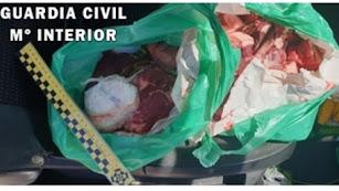 Imagen de la operación difundida por la Guardia Civil.