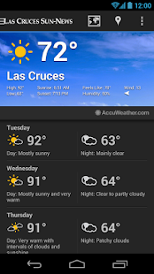 Las Cruces Sun News- screenshot thumbnail