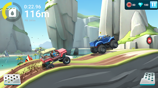 MMX Hill Dash 2 – Trucks, Autos & Bikes im Gelände Screenshot