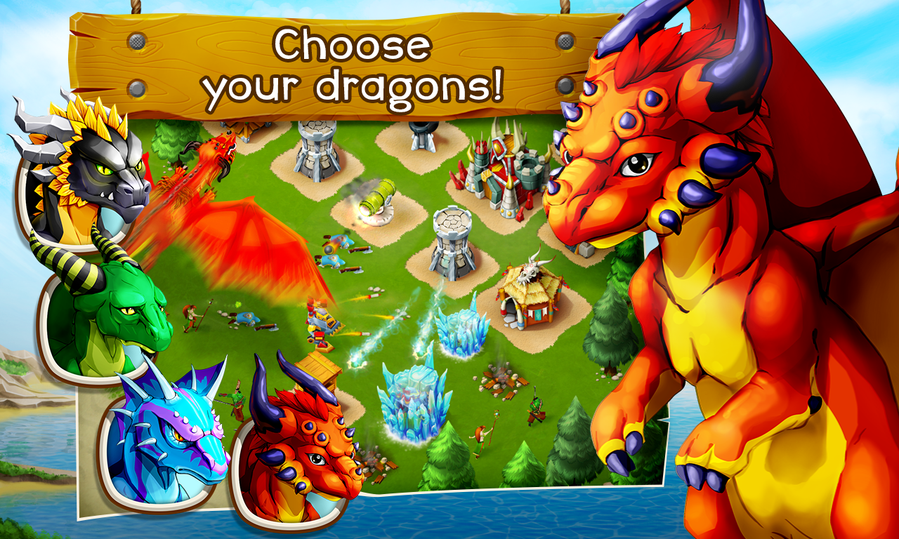 Clash of Dragons- screenshot