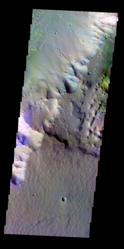 Highland Margin - False Color