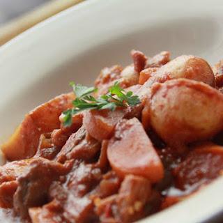 No-Dak-Doritang (Spicy Korean Potato and Vegetable Stew) [Vegan, Gluten-Free]