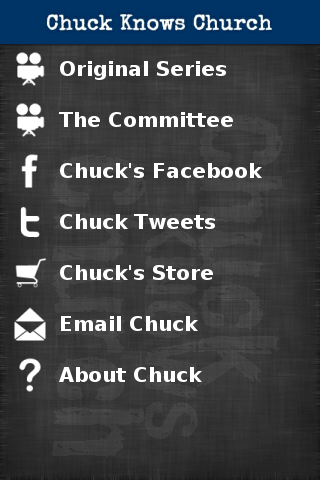 Chuck Knows Church- screenshot