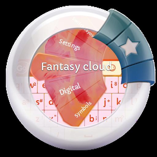个人化のファンタジークラウド GO Keyboard LOGO-記事Game