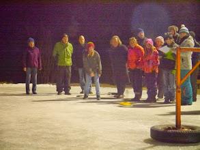 Photo: Eisstockschießen ist dort Stanglschießen...