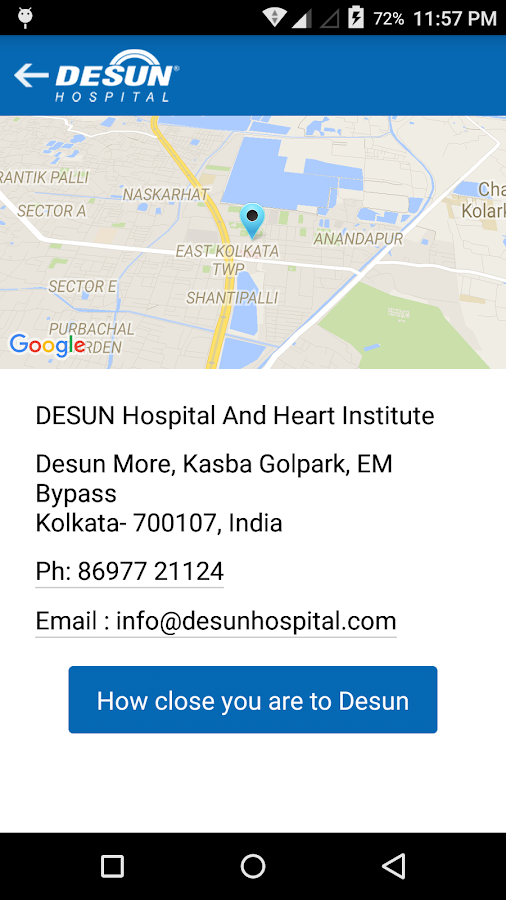 Desun Health- screenshot