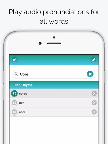 Rhyme Time Rhyming Dictionary Screenshot