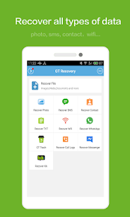 App GT Recovery - Undelete,Restore APK for Windows Phone