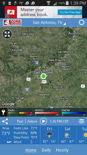 WOAI 4 Zone Weather screenshots 1