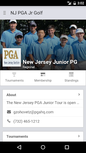 玩運動App|New Jersey PGA Junior Tour免費|APP試玩