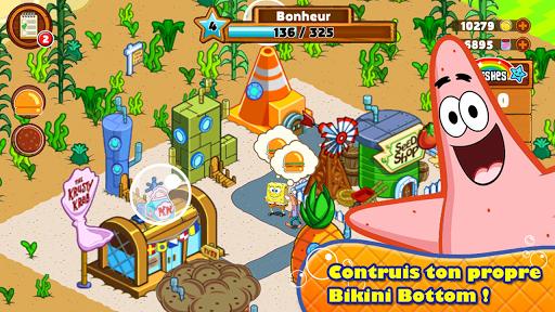 Bob l'éponge : Bienvenue à Bikini Bottom APK MOD – Pièces de Monnaie Illimitées (Astuce) screenshots hack proof 2