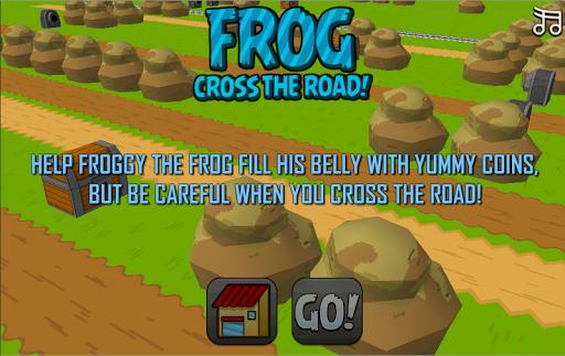 Frog Cross The Road
