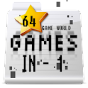 Game World 64 Games In 1 icon