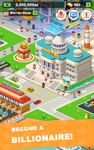Idle investor tycoon- Build your city filehippodl screenshot 11