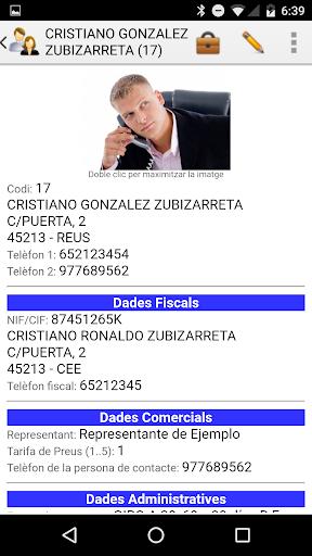iGes: capturas de pantalla simples de facturación 2