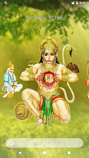 4D Hanuman Live Wallpaper 6.6 screenshots 1