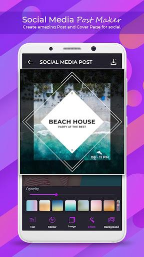 Social Media Post Maker - Social Post 1.1.0 Apk for Android 3