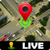 Street View Live Route Finder-GPS Voice Navigation