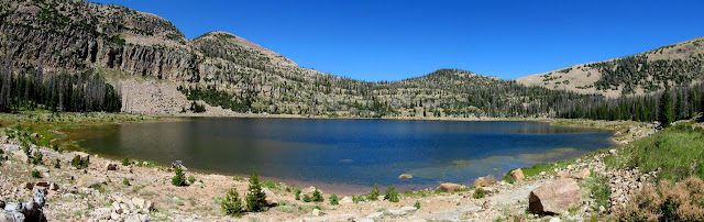 Big Elk Lake panorama